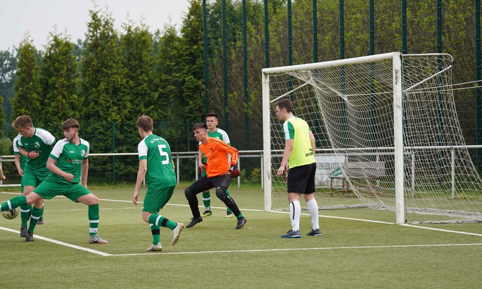 SC Enger A Jugend gegen 2. Mannschaft